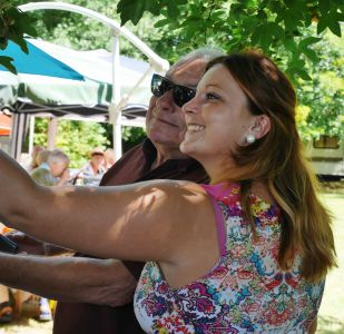 Selfies at a summer party by Carol C