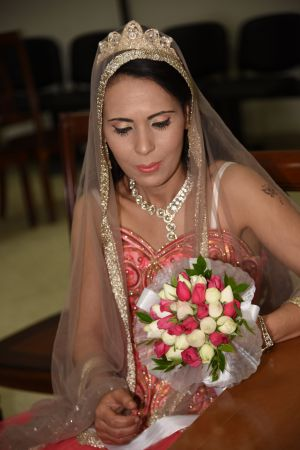 Beautiful bride by Nicole