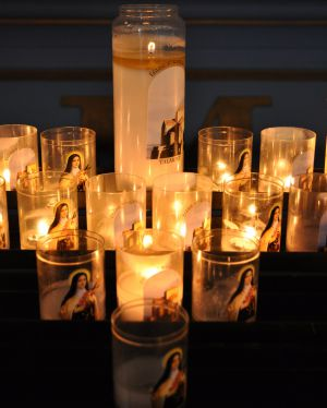 Candles at Talmont by Denise