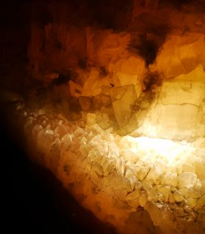 Crystal cave by Denise